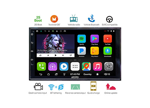 1. ATOTO A6 android car stereo
