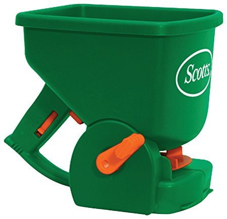 3. Scotts Easy Hand-Held Broadcast Spreader
