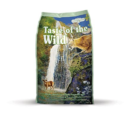 4. Taste of the Wild Grain Free High Protein Natural Dry Cat Food