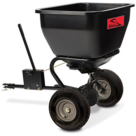 7. Brinly BS36BH Tow Behind Broadcast Spreader, 175-Pound