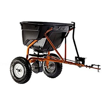 6. Agri-Fab 45-0463 130-Pound Tow Behind Broadcast Spreader