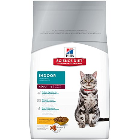 8. Hill's Science Diet Indoor Dry Cat Food