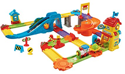 1. VTech Go! Go! Smart Wheels Train Station Playset