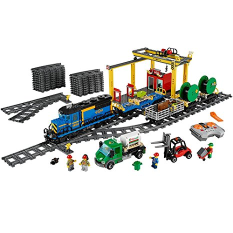 4. LEGO City Cargo Train 60052 Train Toy