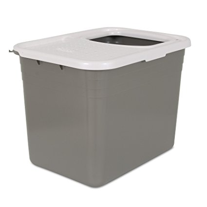 5. Petmate Top Entry Litter Pan