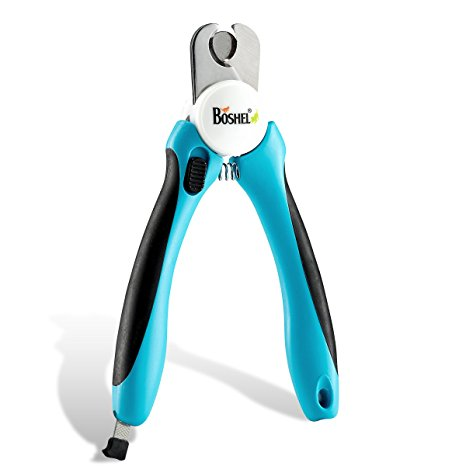 1. Dog Nail Clippers and Trimmer By Boshel