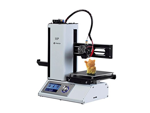 1. Monoprice 115365 Select Mini 3D Printer with Heated Build Plate, Includes Micro SD Card and Sample PLA Filament
