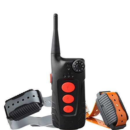 10. Aetertek Dog Pet Barking Electronic Shock Training Collar Remote Control Wireless E-collar Rechargeable and Waterproof