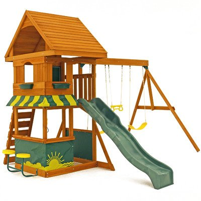 10. Big Backyard Magnolia Wooden Play Set