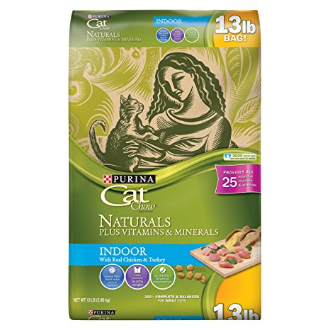 1. Purina Cat Chow Naturals Indoor Dry Cat Food