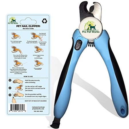 7. Pro Pet Works Dog Nail Clippers
