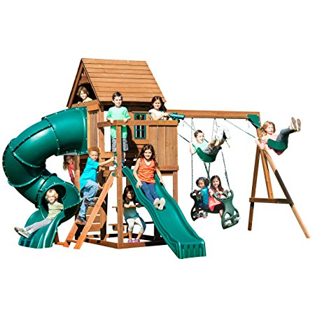 8. Swing-N-Slide Tremont Tower Play Set