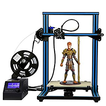 4. HICTOP Creality CR-10 3D Printer Prusa I3 DIY Kit Aluminum Large Print Size 300x300x400mm