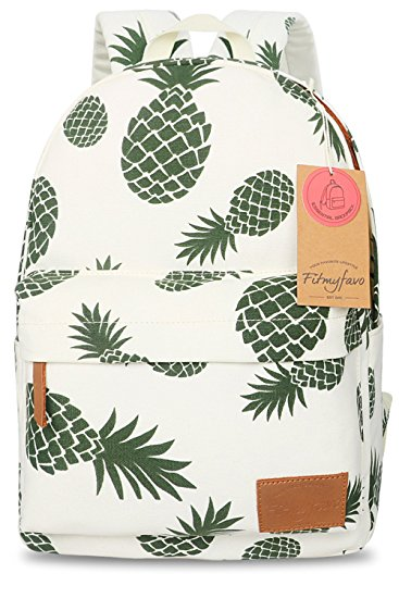 1. FITMYFAVO Backpack for Girls with Multi-Pockets