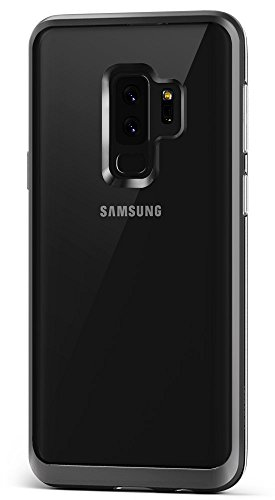 10. Galaxy S9 Plus Case :: VRS :: Transparent Crystal Thin Cover :: Clear Slim Fit :: Hard Drop Protective Bumper for Samsung Galaxy S9 Plus (Crystal Bumper - Steel Silver)