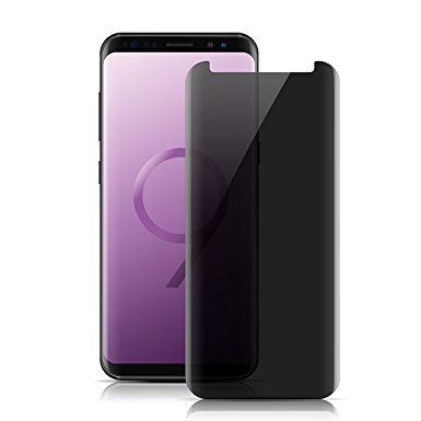 8. Samsung Galaxy S9 Screen Protector Privacy Temered Glass,VIEE Anti Glare HD Privacy Protective Glass Screen Protector Film For Galaxy S9