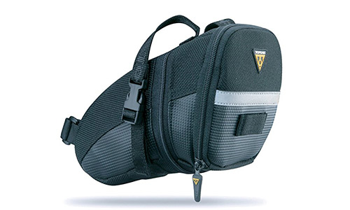 10. Topeak seat pack Aero Wedge Packs saddle bag