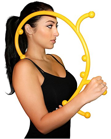 8. Nayoya Back Hook Massager - Patented Self Massager