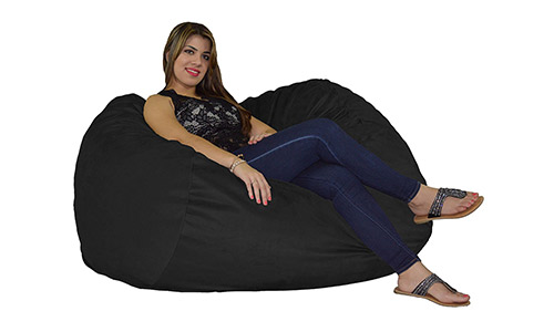 8. Cosy Sack Bean Bag Chair 5' With 29 Cubic Feet of Premium Foam