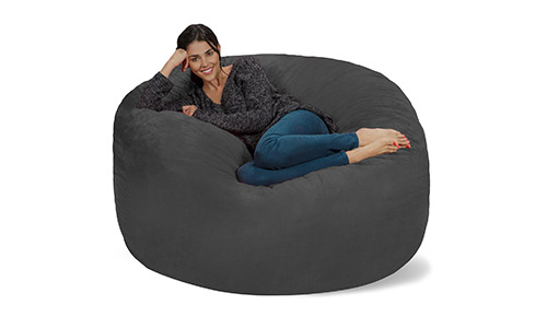 4. Chill Sack Bean Bag Chair: Giant 5' Memory Foam Furniture Bean