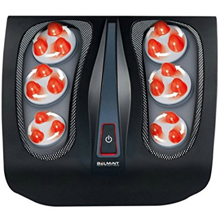 6. Shiatsu Foot Massager for Painful Plantar Fasciitis, Chronic and Nerve Pain - Deep Kneading Shiatsu Therapy Massage with Built-In Heat Function Massage Tired.