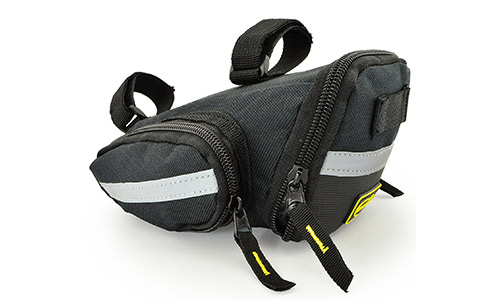 8. Lumintrail Strap-on Bike Saddle Bag Bicycle Cycling Under Seat Pack Medium or Large