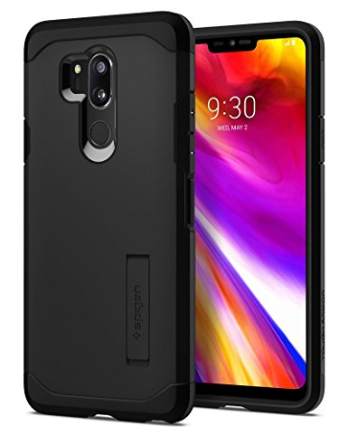 3. Spigen Tough Armor LG G7 Case/LG G7 ThinQ Case with Reinforced Kickstand and Heavy Duty Protection and Air Cushion Technology for LG G7 ThinQ (2018)
