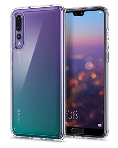 9. Spigen Ultra Hybrid HUAWEI P20 Pro Case with Air Cushion Technology and Clear Hybrid Drop Protection for Huawei P20 Pro (2018)