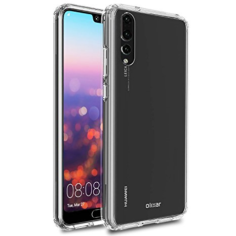 3. Huawei P20 Pro Bumper Case - Hard Tough Cover - Olixar ExoShield - Shock Protection - Slim Design - Clear