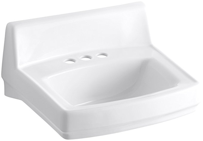 6. KOHLER K-2032-0 Greenwich Wall-Mount Bathroom Sink