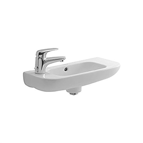 4. Duravit 07065000092 D-Code Bathroom Sink
