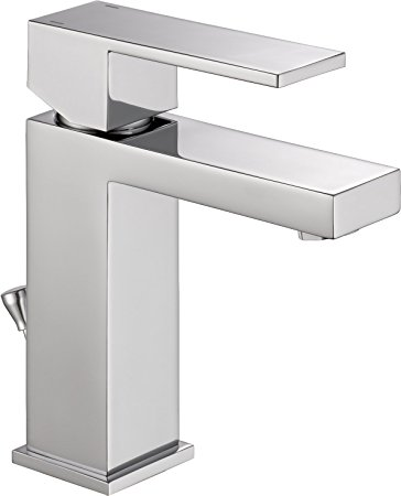 1. Delta 567LF-PP Modern Single-Handle Bathroom Faucet with Drain Assembly, Chrome