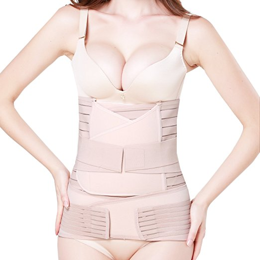 3. 3 In 1 Postpartum Support - Recovery Belly/Waist/pelvis Belt Shapewear