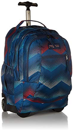6. JanSport Driver 8 Core Series Wheeled Backpack